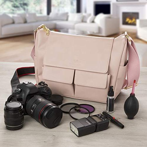 DSLR for Blush - Crossbody for Cameras - Accessories, Equipment, Gear