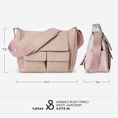 DSLR Shoulder for Blush Crossbody for Cameras - Professional Accessories, and Travel Gear