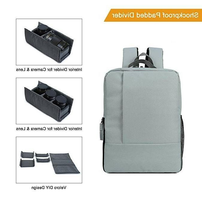 DSLR SLR Waterproof Bag with Laptop Canon Sony
