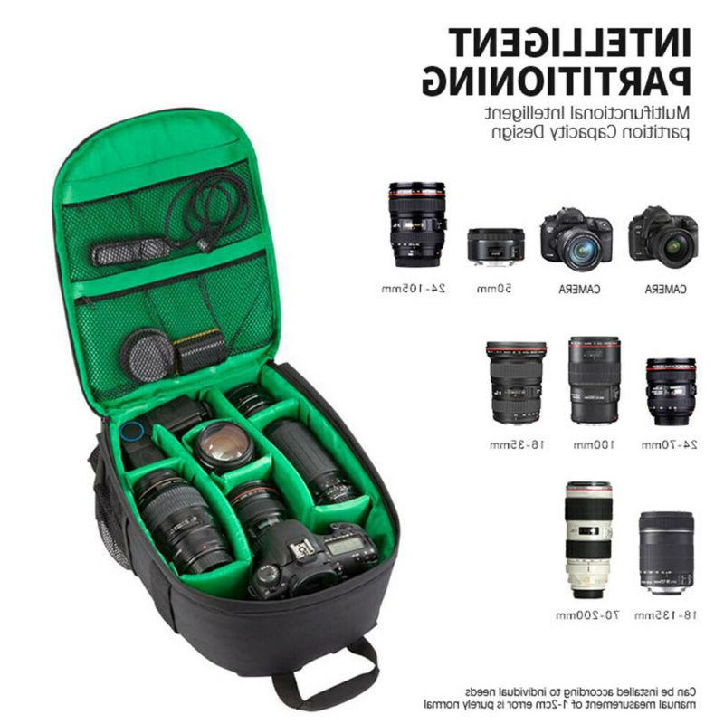 DSLR Backpack Waterproof Bag For Canon Nikon-Sony