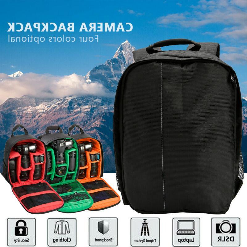dslr slr camera backpack waterproof shoulder bag