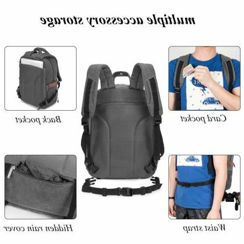 DSLR/SLR Camera Bag Camera Backpack Bag for Women Men