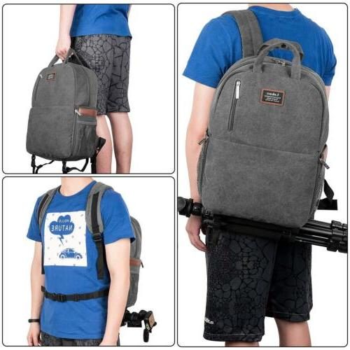 DSLR/SLR Camera Camera Backpack Waterproof Bag for Women