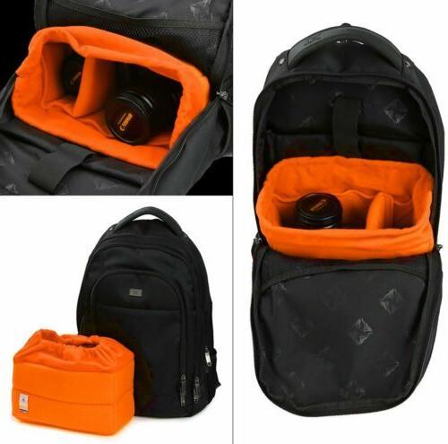 Koolertron Bag Padded Nikon Lens Bag