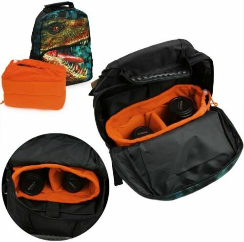 Koolertron DSLR Camera Bag Padded Nikon Bag