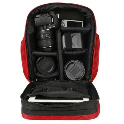 VanGoddy Camera Lens Backpack Carry Case For / D3500