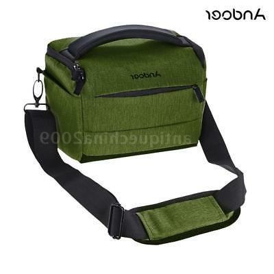 DSLR SLR Camera Shoulder Bag Lens Protective Case Backpack f