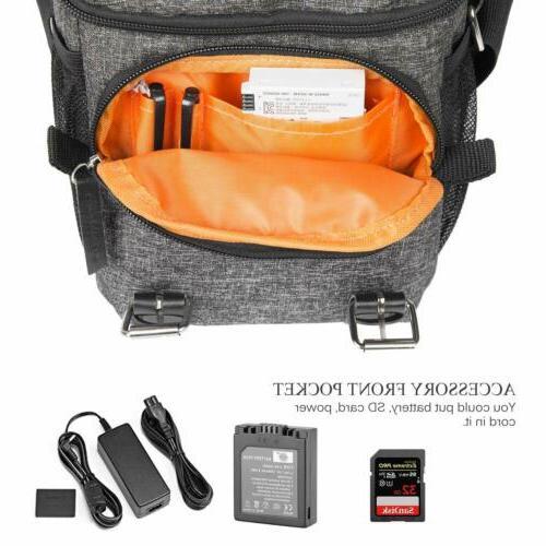 DSLR Camera Shoulder Bag Shockproof Bag for