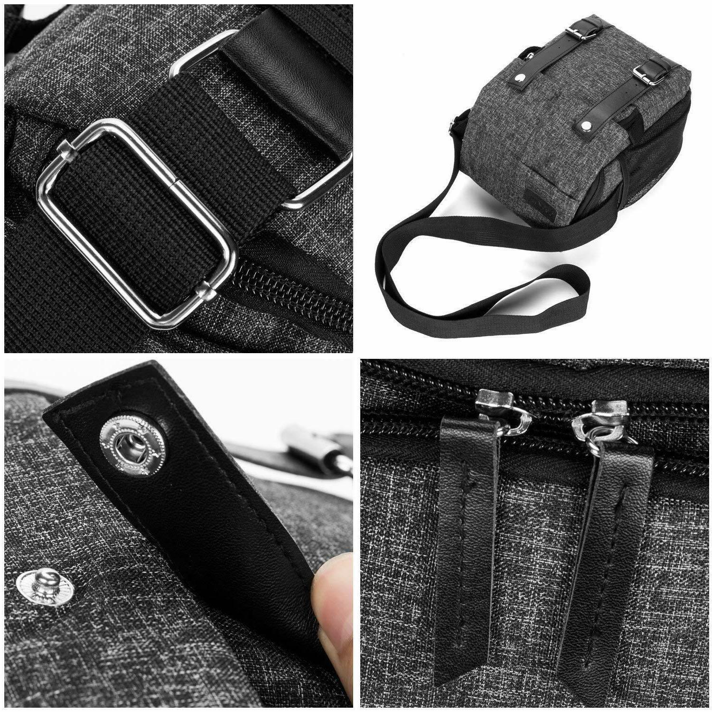 Bag Waterproof Shockproof Messenger Bag for Women Men