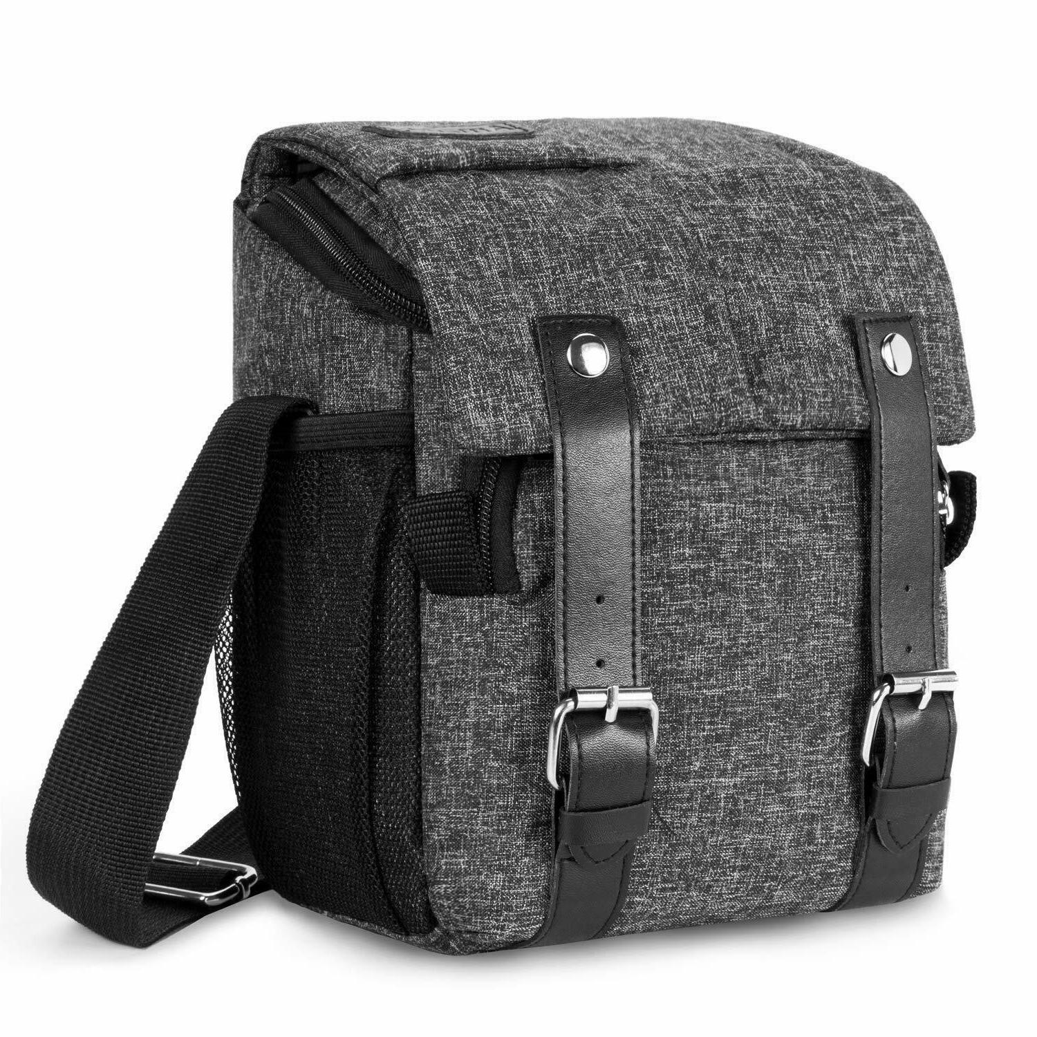 dslr slr camera shoulder bag waterproof shockproof