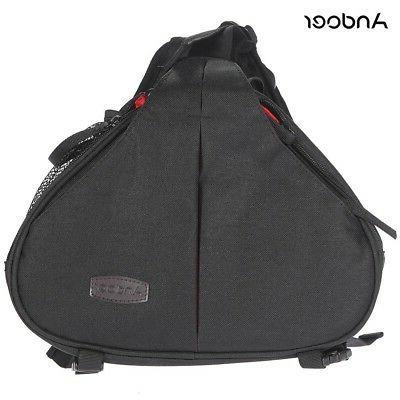 Andoer Fashion Casual Camera Bag Case Messenger Shoulder Bag