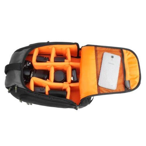 Professional Camera/Laptop Case w/Raincover & Handle
