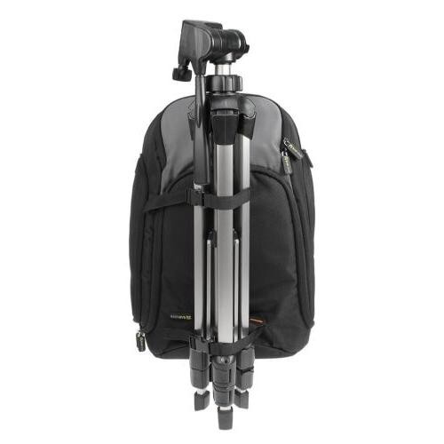 Professional Camera/Laptop Backpack w/Raincover & Handle