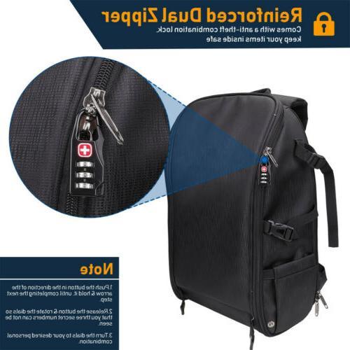 DSLR/SLR/TLR Bag w/ Rain Port/ Laptop