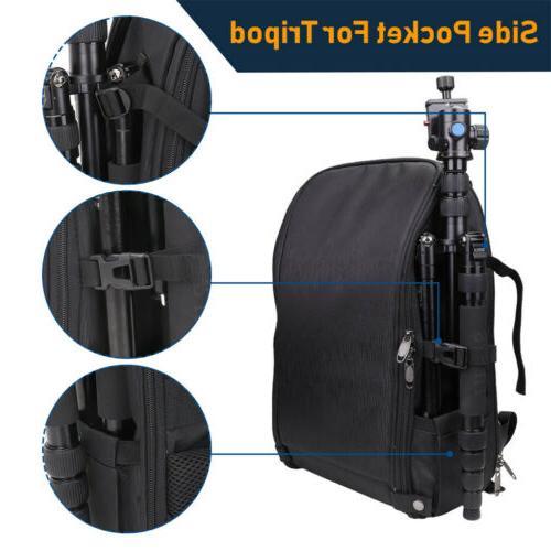 """DSLR/SLR/TLR Backpack Bag w/ Charging Port/ 15.6"""" Laptop"""