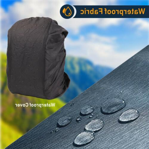 """DSLR/SLR/TLR Camera Backpack Bag w/ Cover/USB Port/ 15.6"""" Laptop"""
