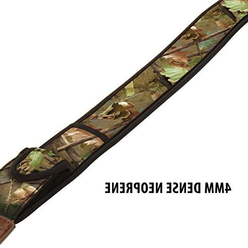 DSLR Camera Strap Camouflage Nature Pattern and by Works With Fujifilm , Sony and , & Shoot Cameras