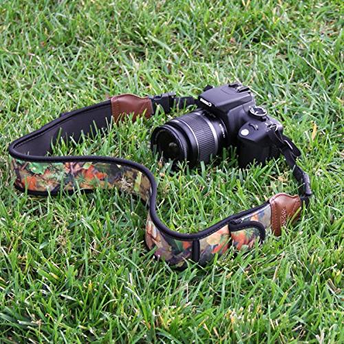 DSLR Camouflage and Accessory Pockets by USA Works With Sony and more , Mirrorless , Point &