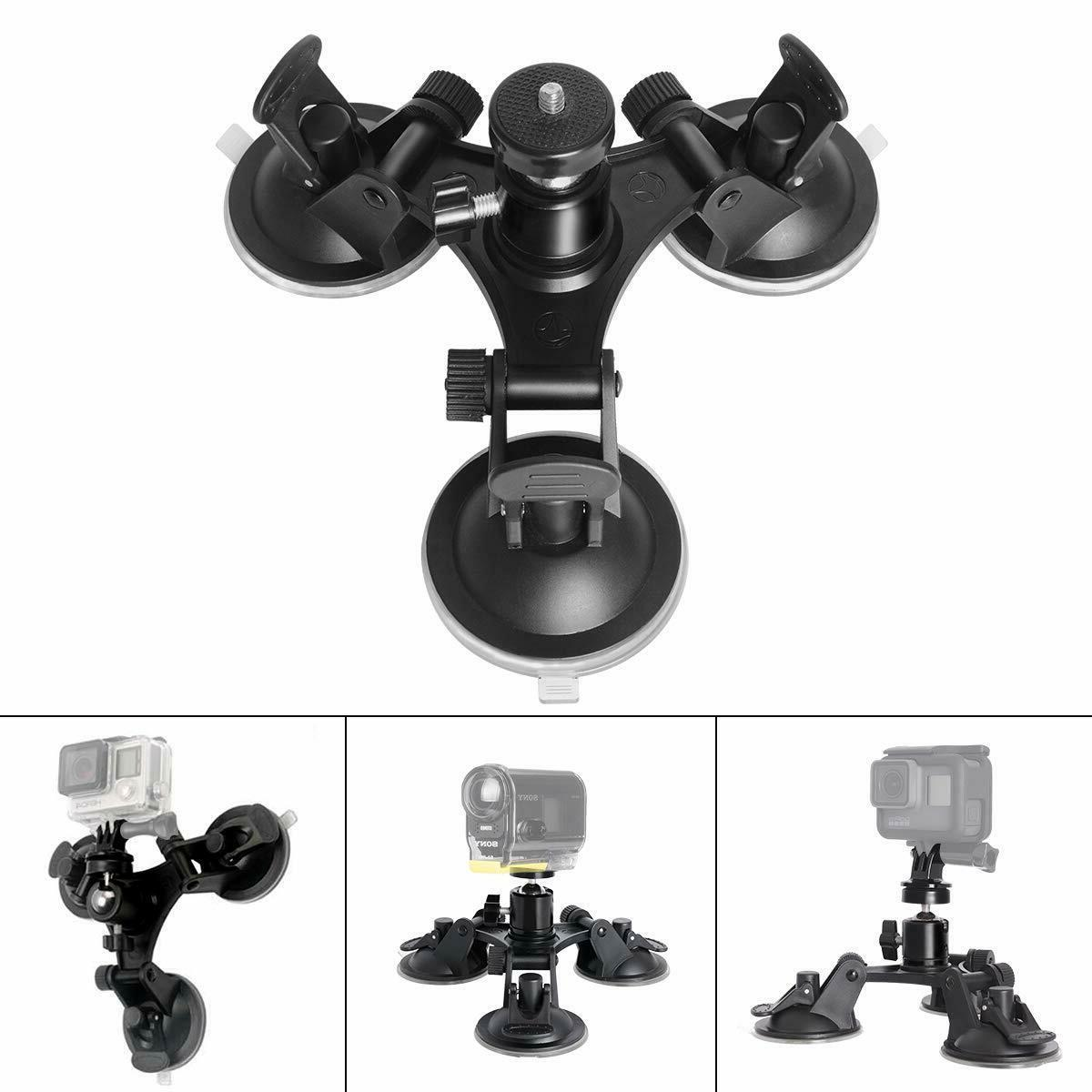 DSLR Suction Cup Video Holder Ball Head Car Window Mounts