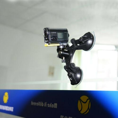 DSLR Suction Video Camera Ball Head Car Mounts