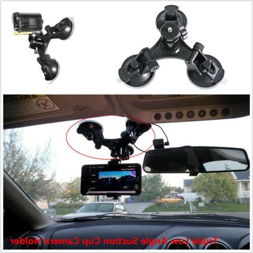 DSLR Suction Cup Action Video Camera Ball Head Mounts