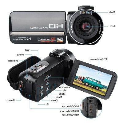 DSLR Video HDMI HD 1080P Waterproof DV