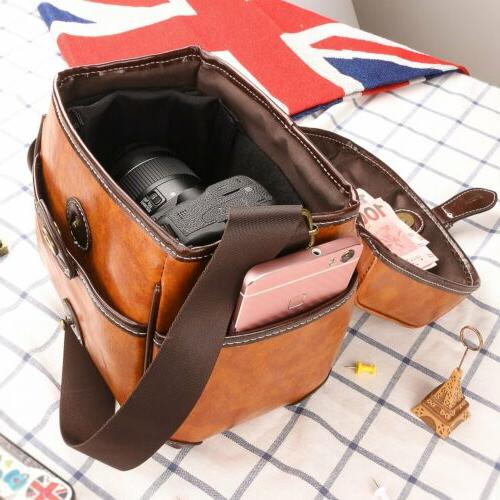 DSLR Vintage Shoulder Handbag Men's Bag Women's Bag