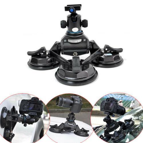 dv dslr camera comcorder stabilizer suction mount