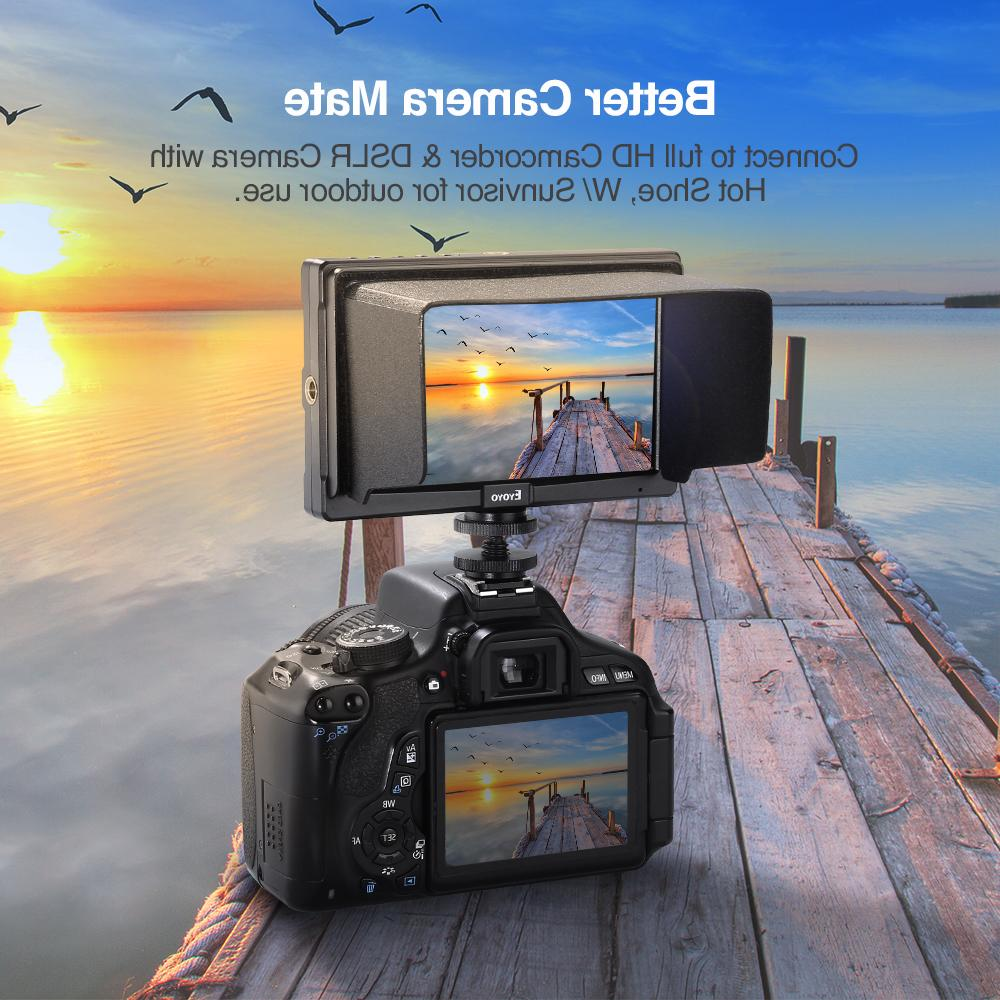 Eyoyo 4K <font><b>HDMI</b></font> Monitor Ultra 400cd/m2 Full HD 1920x1080 LCD IPS