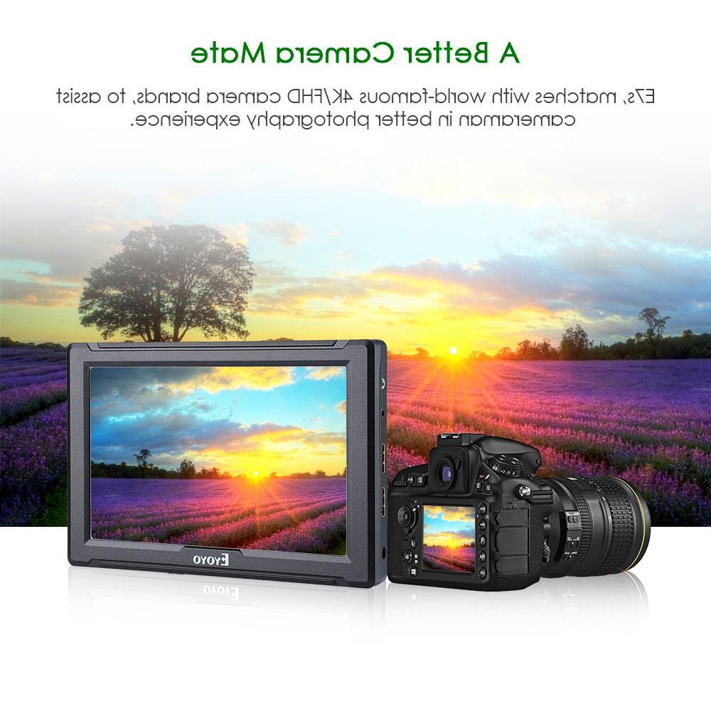 4K <font><b>HDMI</b></font> <font><b>DSLR</b></font> Field Monitor Ultra Bright Full HD LCD IPS
