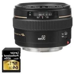 Canon EF 50mm f/1.4 USM Standard Lens f/ Canon SLR Camera w/