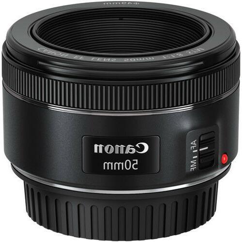 Canon 50mm f/1.8 DSLR Cameras NEW