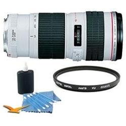 Canon EF 70-200MM F/4.0 L USM Lens Super Saver Kit