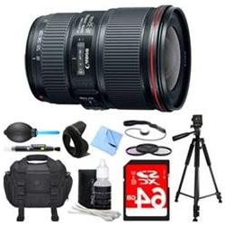 Canon EF 16-35mm F4L IS USM Lens Deluxe Accessory Bundle