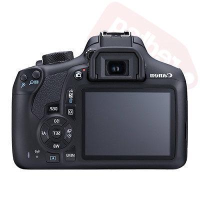 Canon 1300D Rebel T6 Camera + 18-55mm + 30 Bundle