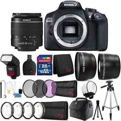 Canon EOS 1300D / T6 18MP Digital SLR Camera 18-55mm Lens an