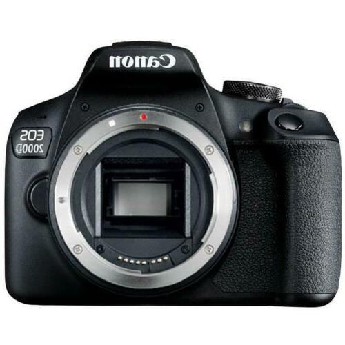 Canon EOS Rebel T7 EF-S Lens