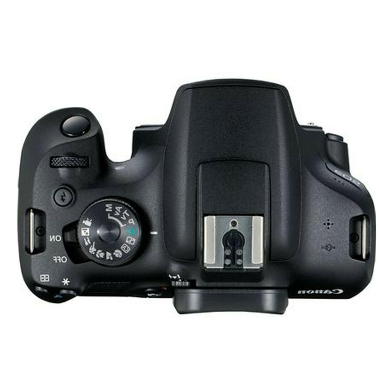 Canon EOS 2000D / Rebel + EF-S Lens+ 128GB Bundle +More