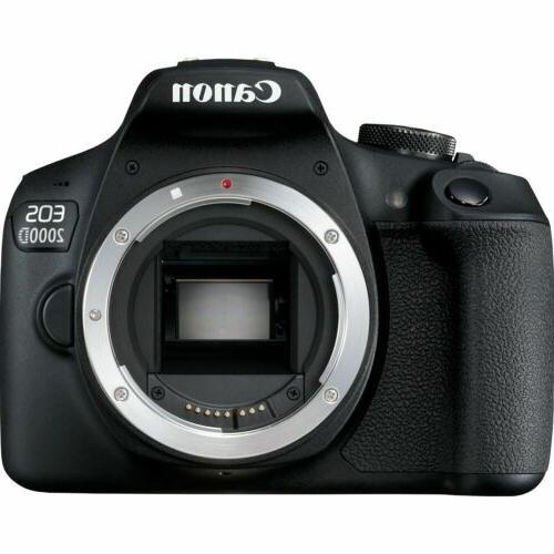 eos 2000d rebel t7 dslr camera