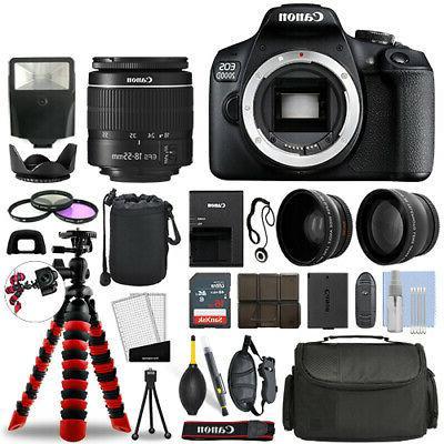 eos 2000d t7 dslr camera w 18