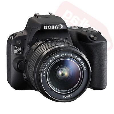 Canon Rebel SL2 DSLR + 18-55mm + Piece