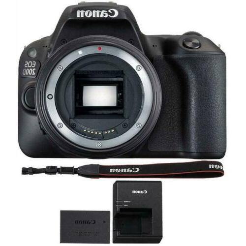 Canon 200D SL2 + 32GB Accessory Kit