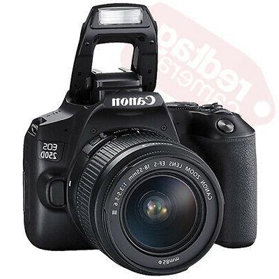 Canon Rebel + 3 Kit 18-55mm + 16GB + Flash
