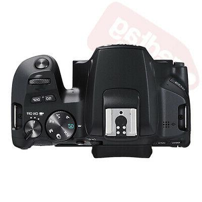 Canon Rebel SL3 SLR 18-55mm + Flash & More