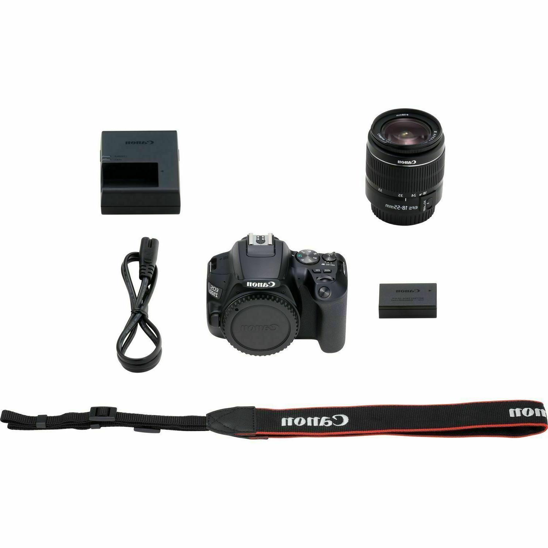Canon DSLR Camera f/4-5.6 IS Lens