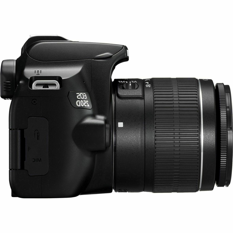 Canon EOS 250D/Rebel SL3 DSLR Camera 18-55mm f/4-5.6