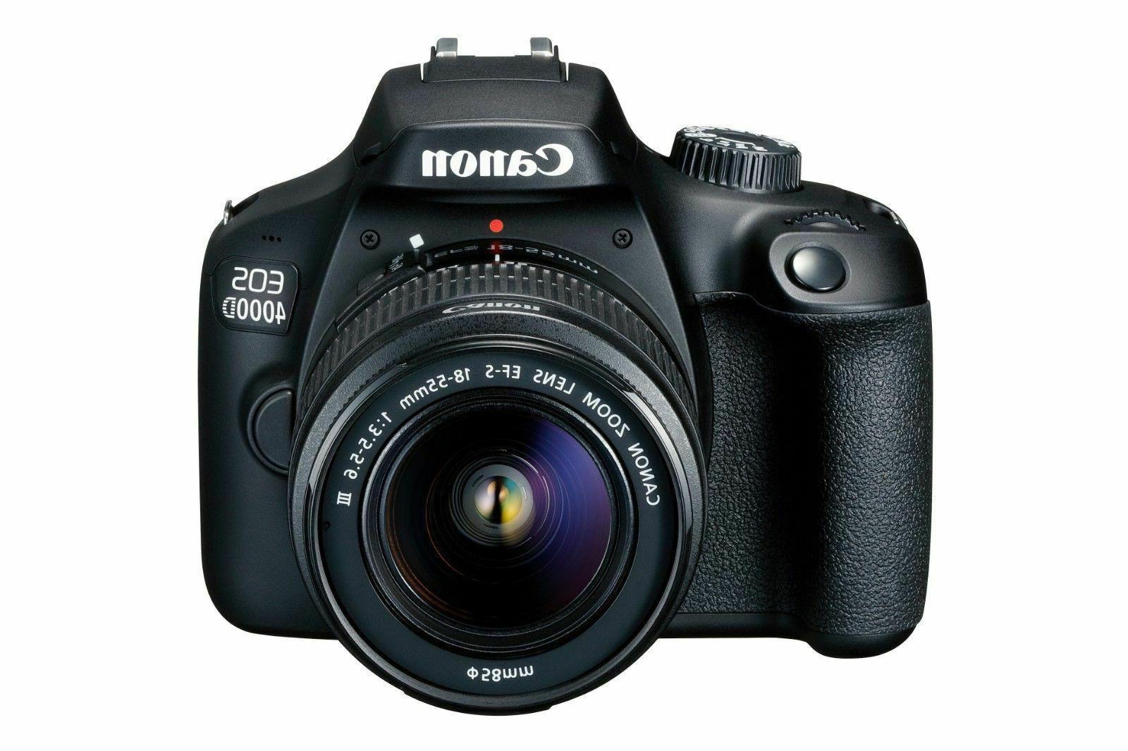 Canon 4000D Camera f/3.5-5.6 III