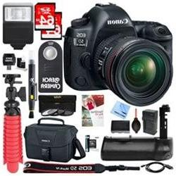 Canon EOS 5D Mark IV 30.4MP DSLR Camera with 24-70mm IS USM