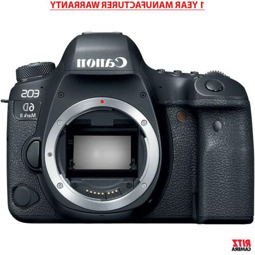 eos 6d mark ii digital slr camera