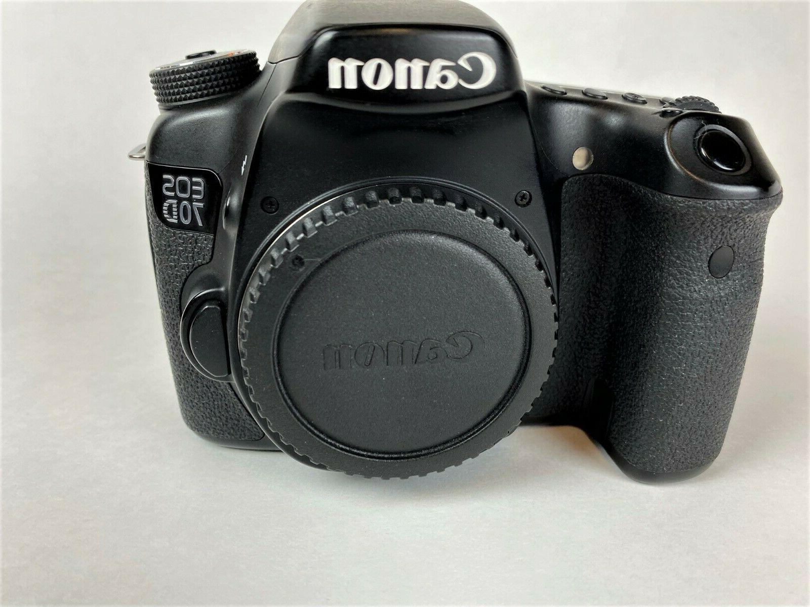 Canon EOS 20.2MP DSLR Body, Accessories Extra